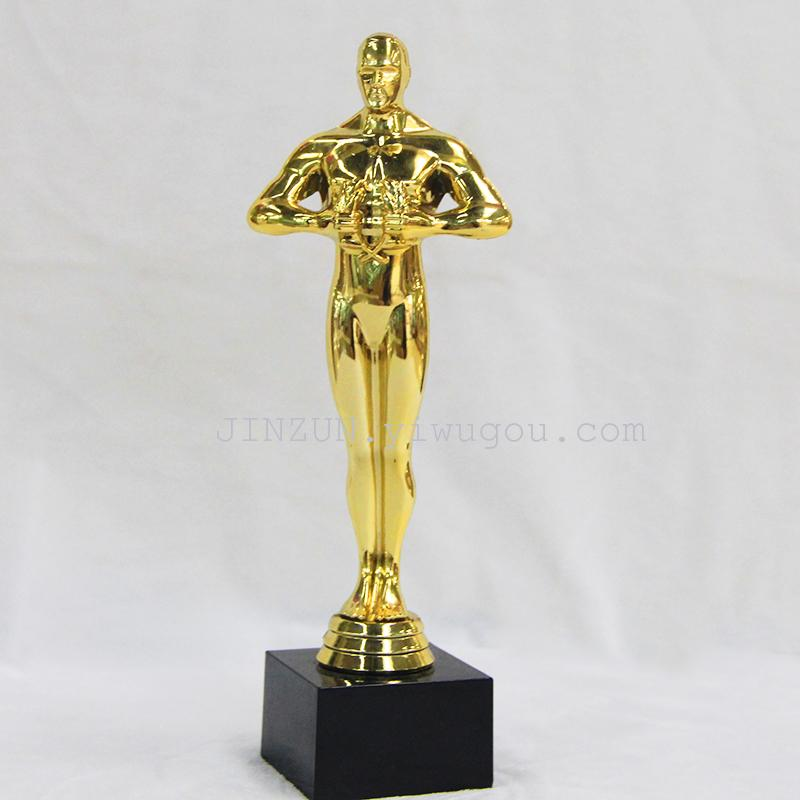 Special Oscar Statuette Trophies Best Actor Trophy Gold Hong Kong Metal