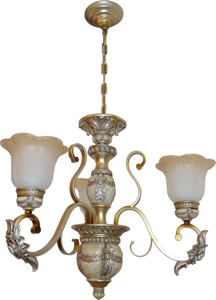 欧式水晶吊灯 美式客厅灯 简欧树脂卧室田园 餐厅铁艺