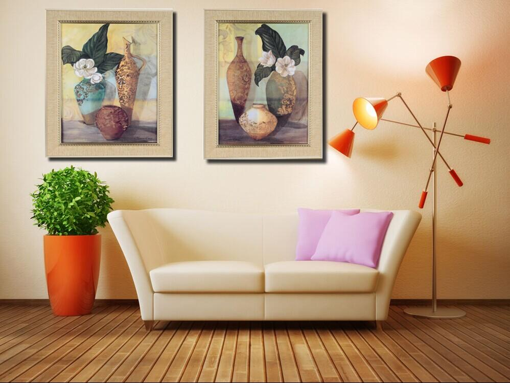 金福来简欧装饰画客厅房间挂画过道壁画_ 金福来画业图片
