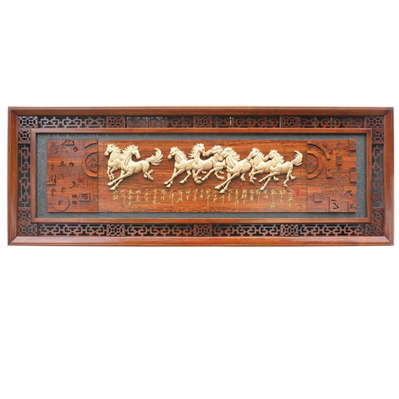 8米【画框质地】实木【画芯质地】纯实木的雕刻板【后 背 板】采用