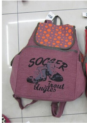 Korean students ' school bags backpack school travel lovers sail cloth bag trend for men and women