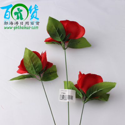wholesale artificial flowers rose rose interior decoration ornaments placed bedroom flower vase of flowers