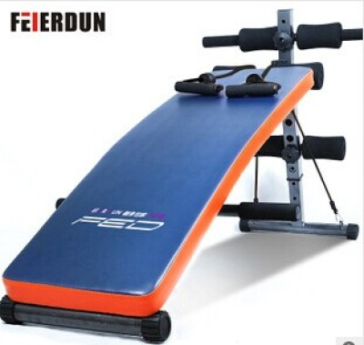 Low price high quality home use fitness used multifunction folding sit up bench