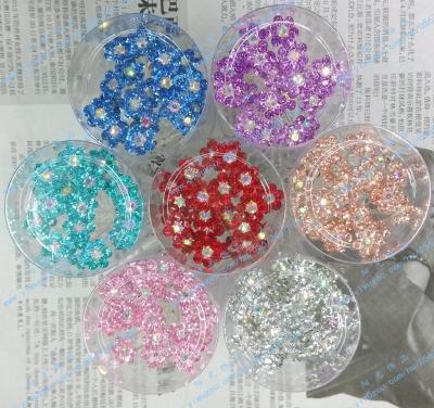 Bridal tiara hair accessories Baby Club diamond small u-shaped clip a little pin