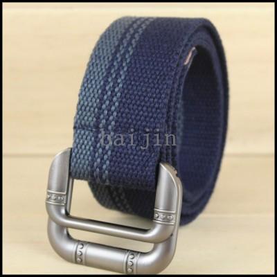Bai Jin New Style Canvas belt for man and women belt wholesale DM080306
