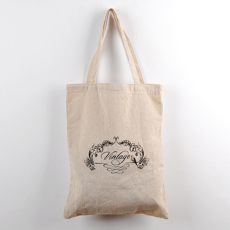 棉麻手提袋/购物袋/学生书本杂志收纳袋/zakka杂货可批发