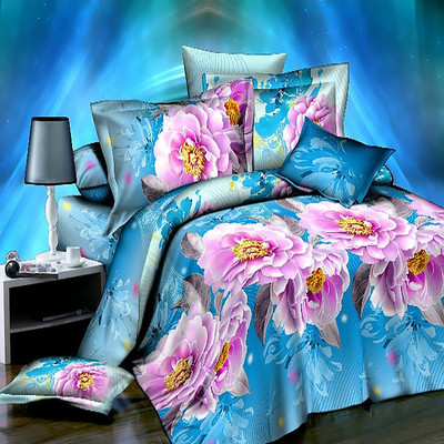 Active printing Europe and the United States 3D bedding four sets Factory direct ywxuege