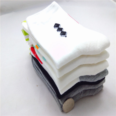 Thick in tube in autumn/winter new  pure cotton men socks end of versatile solid-color sport socks and massage men socks