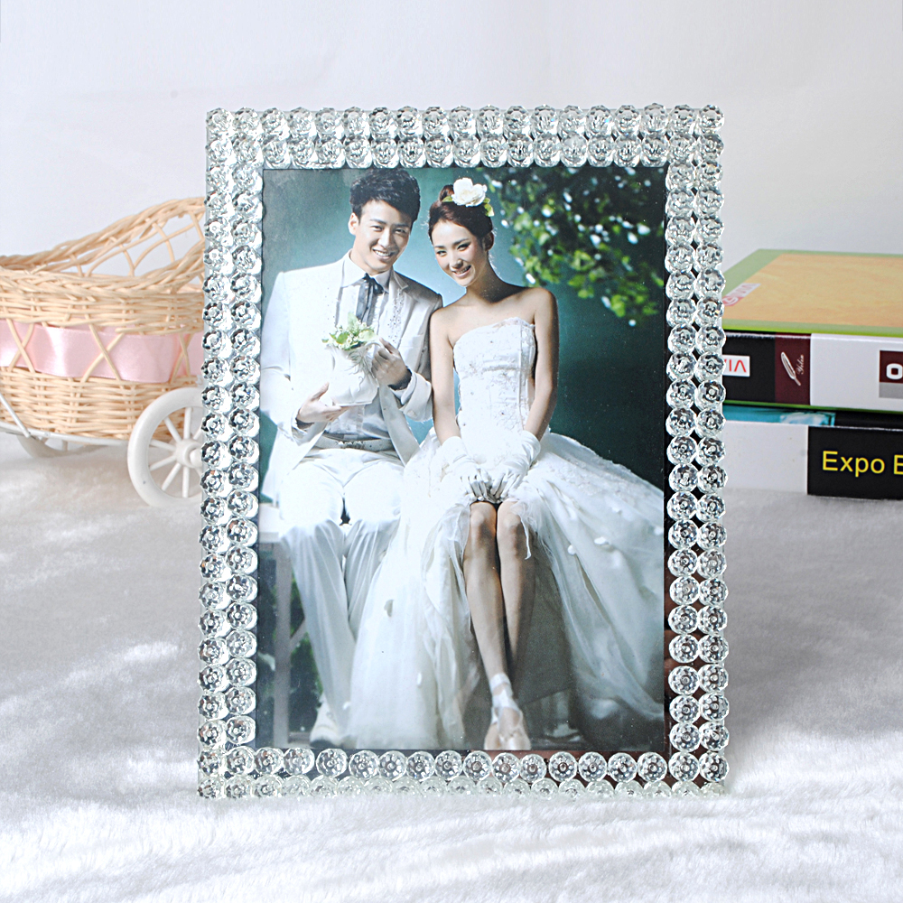 Supply Crystal photo frame creative picture frame photo frame glass ...