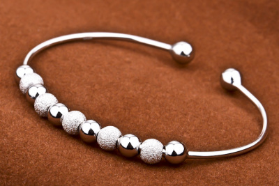 Genuine 925 sterling silver anklets that women love spell can win Beads Bracelet GNSZ0007