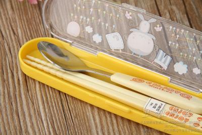 Exquisite convenient tableware three sets of stainless steel tableware tableware tableware set