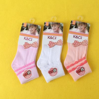 2260 counterpart socks factory direct wholesale handmade autumn and winter solid colors 4-7 old baby socks, children socks