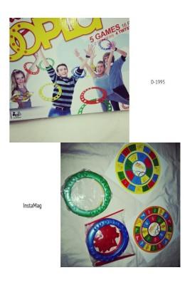 Hula Hoop twist Twister Hoopla game 3C genuine
