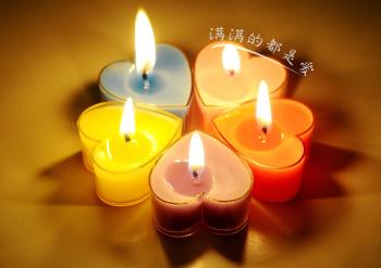 浪漫心形蜡烛套餐 生日求婚表白蜡烛套餐 礼品蜡烛 心形蜡烛 枫林烛业 义乌国际商贸城四区 义乌购