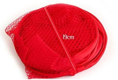 Folding mesh laundry hamper