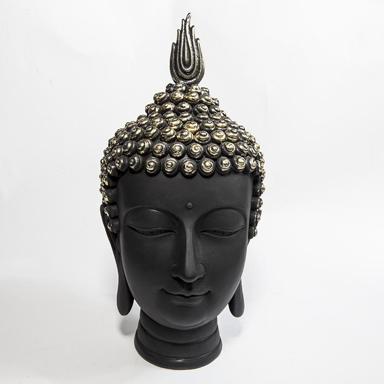 泰国佛 工艺品 树脂摆件 佛头