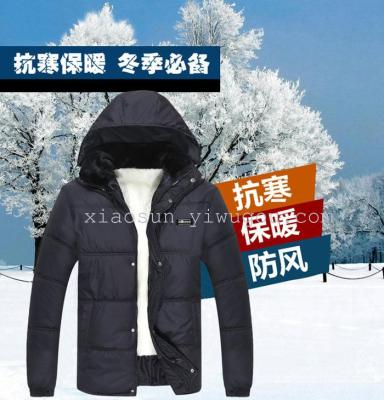 New style men's jacket coat thicken middle-aged cheap cotton clothes