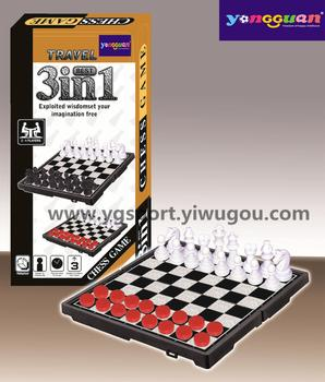 The latest children's educational games chess checkers YGJ6-837-A