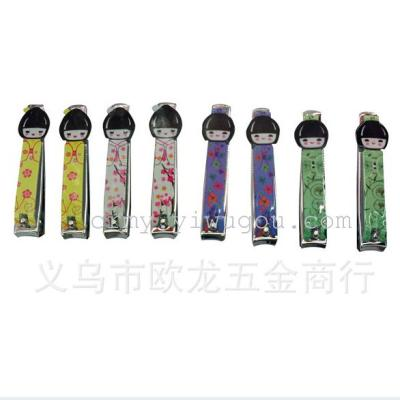 Cute nail files, nail clippers, manicure tool nail clippers