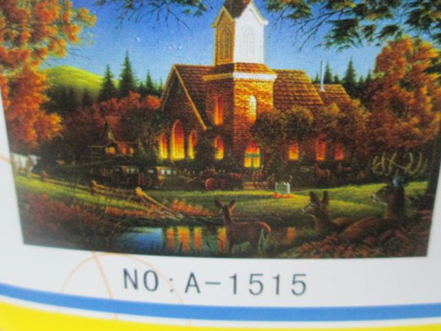1000片平面拼图 外贸包装 风景画图案1515