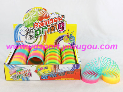 Rainbow magic spring ring children's educational toys YGH7-818-6