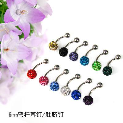 Explosive imported Shambhala Europe fashion earrings rhinestone factory outlet