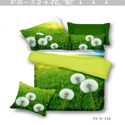 Yiwu snow pigeon cotton four piece set of 100% cotton 3D stereo full activity of the new set of four pieces