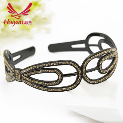 Rhinestone Korea accessories hair accessories headband Korean version of Ms autumn and winter mixed batches in Yiwu jewelry wholesale