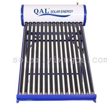 QAL非承压150L彩钢太阳能热水器工厂F4-19096