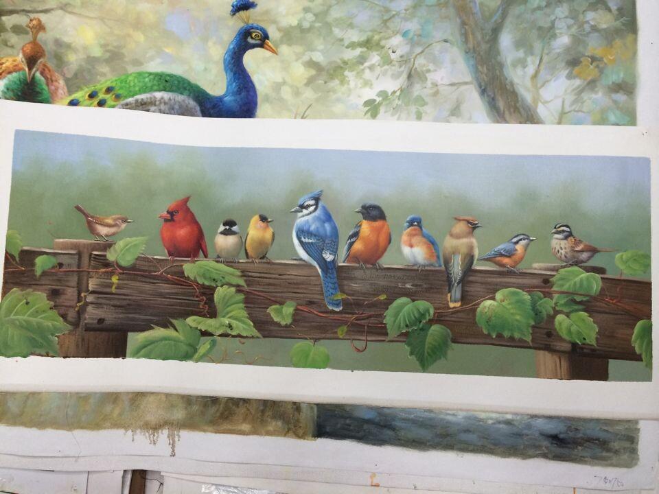 欧雅油画纯手绘油画欧式客厅装饰抽象风景壁画古挂画玄关有框画