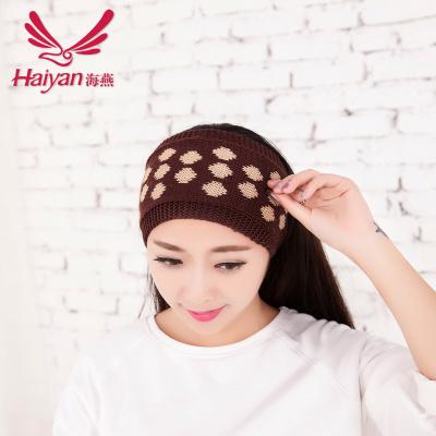 Shifting from fall/winter Knitting yarn headband Yiwu Korean jewelry