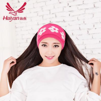 Yarn flowers lead with the Korean version of wholesale hair accessories headband tiara
