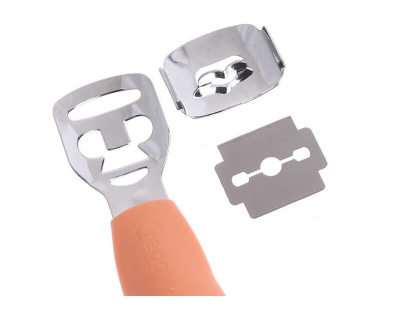 Exfoliating Foot nail planing dead skin with 10 blade Planer