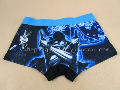 Cartoon wide-man Wang Suolong pirates boys boxer briefs 2203