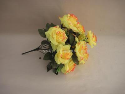 Artificial flowers silk flowers Roses roses curl Mary