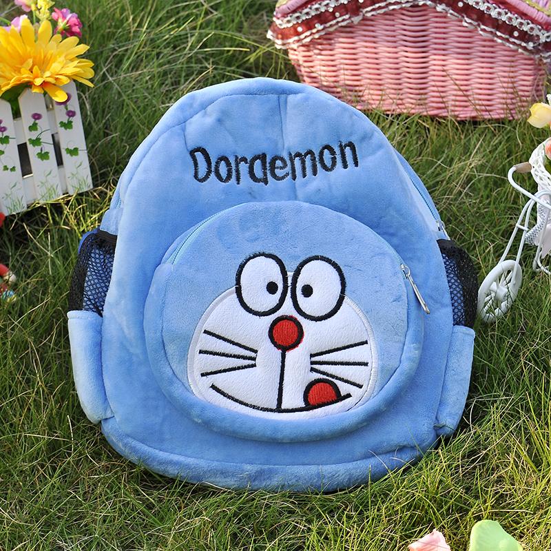 可爱卡通小动物儿童书包水晶超柔大背包男女童背包开学生日礼物
