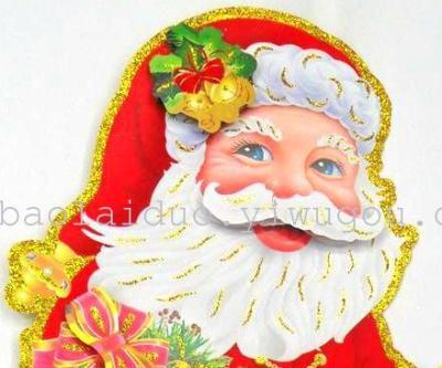 2014  3D christmas Santa  sticker