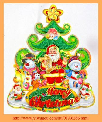 20014 3D Christmas stickers BLD23