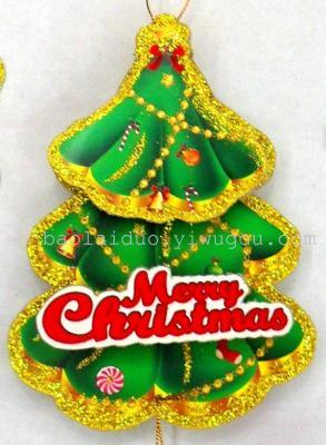 2014 3D christmas Santa pendant  BJ604