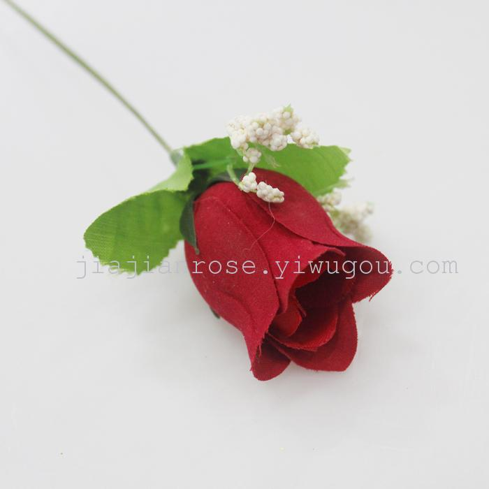 Supply Single Small Bud Artificial Flower Manufacturers Selling
