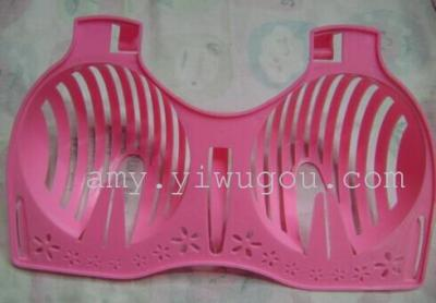 Pink bra drying rack stereo Japanese-style Bras include drying function