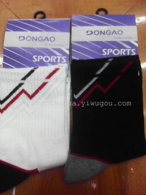 Sporty cotton men socks