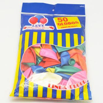 混色乳胶珠光球 充气玩具