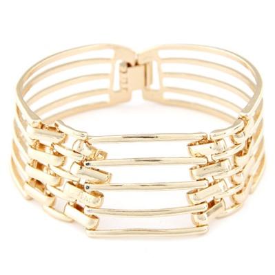 Fine European and American temperament of exquisite metal chain bracelet (five)