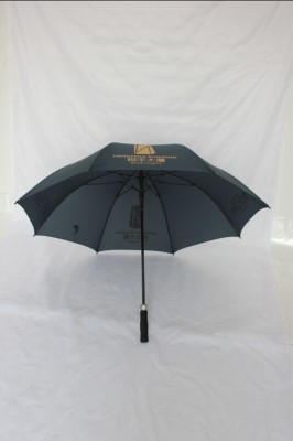 Full -fiber PG cloth automatic umbrella advertising straight pole golf umbrella