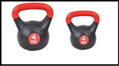 Burn painted kettlebells 23 kg full