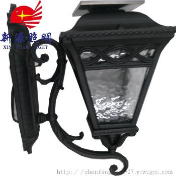 太阳能灯led 户外太阳能壁灯欧式庭院路灯别墅门灯挂灯阳台灯