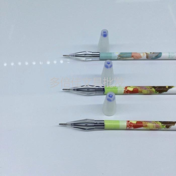学生用品可爱女人背影中性笔笔芯