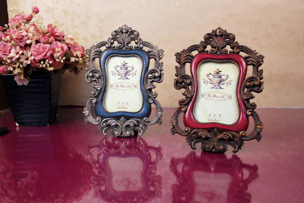 欧式巴洛克风格家庭饰品摆件相框图片