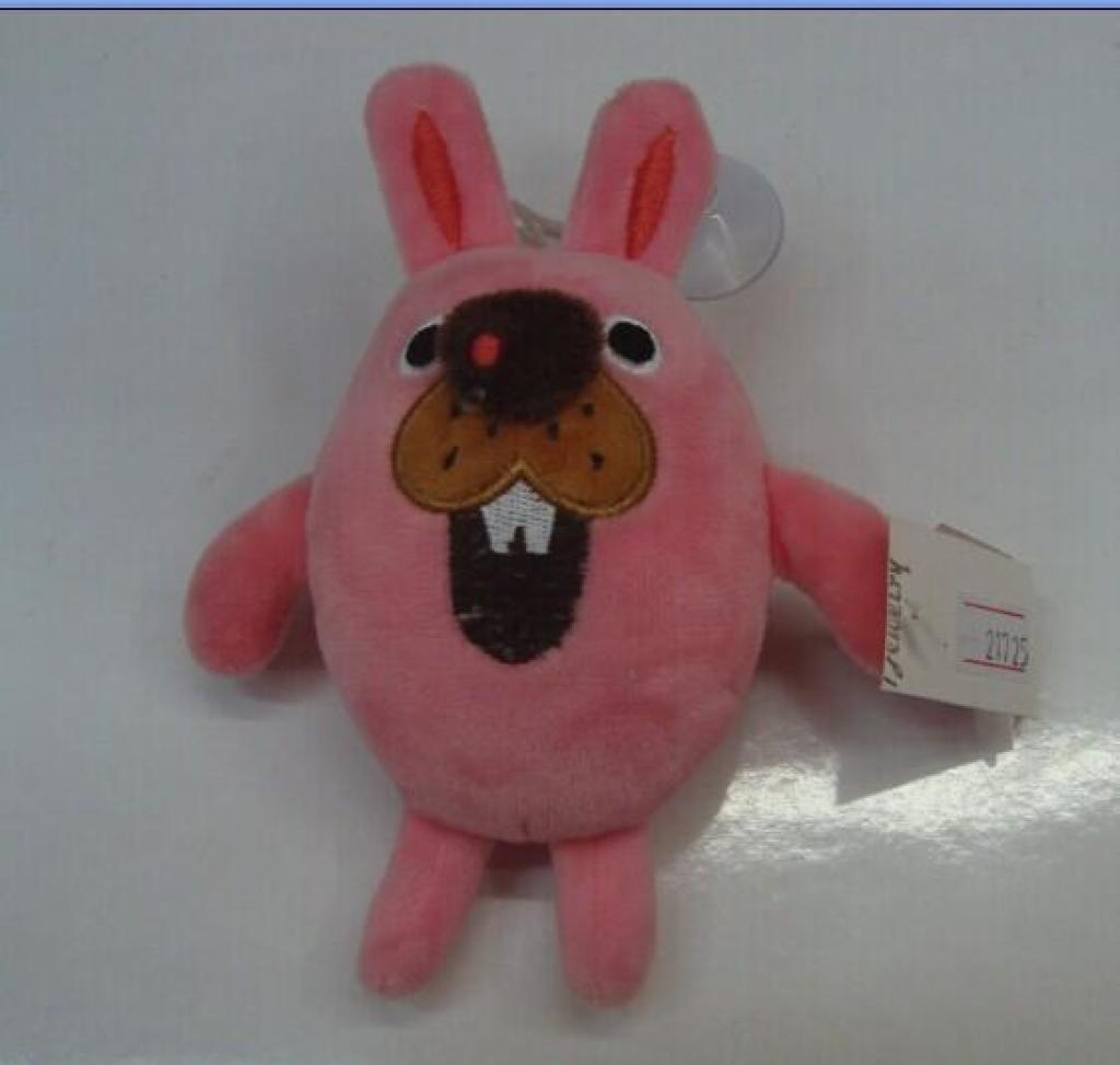 毛绒挂件 可爱龅牙兔 挂件